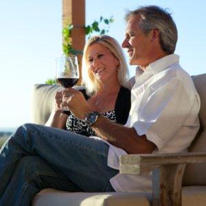 Visit wineries in San Simeon or just miles away