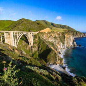 Bixby Bridge on historic Highway 1