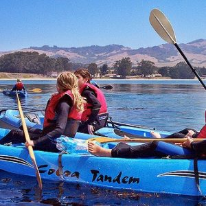 Kayaking in San Simeon Bay