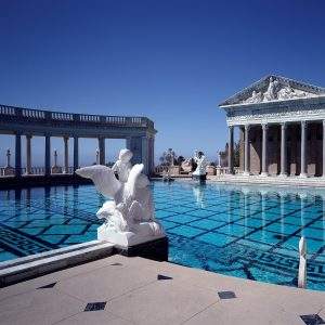 Neptune Pool at Hearst Castle in San Simeon