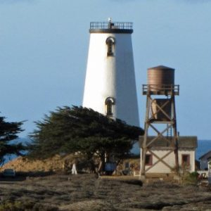 Piedras Blancas Lighthouse in San Simeon, CA