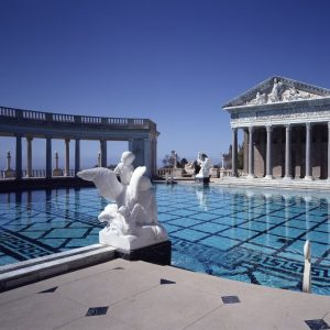 Neptune Pool at Hearst Castle, San Simeon, CA