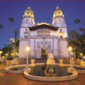 Evening at Hearst Castle