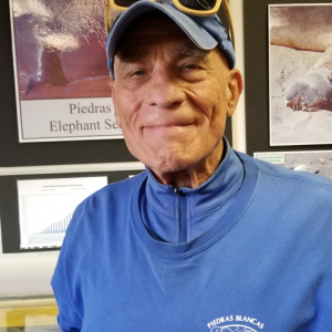 Friends of the Elephant Seal Docent, Lou Tornatzky