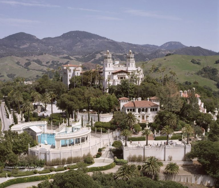 Hearst Castle Near Big Sur, CA