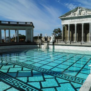Neptune Pool at Hearst Castle in San Simeon, CA