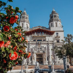 Hearst Castle in San Simeon, CA