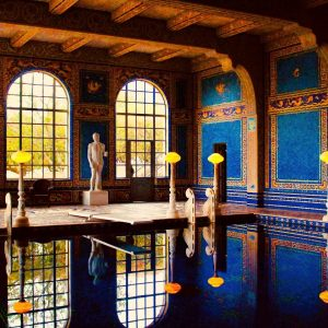 Roman Pool at Hearst Castle in San Simeon, CA