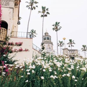 Wedding Day at Hearst Castle