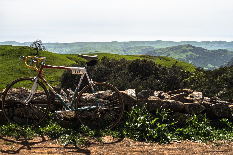 Eroica bike ride in San Simeon, CA