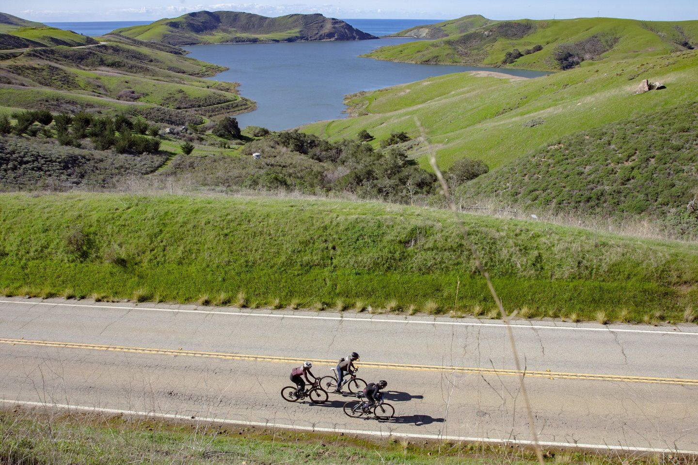 Cycling to San Simeon, CA