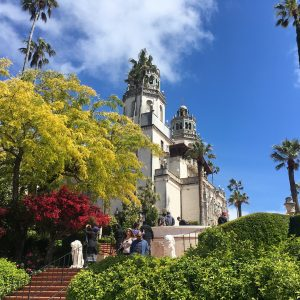 Hearst Castle in the day