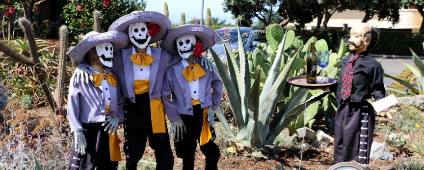 Day of the Dead Scarecrows